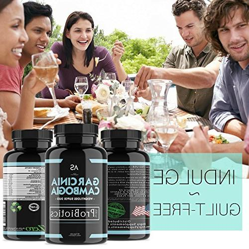 Angry Supplements Garcinia Cambogia Probiotic Remedy - Bean for and Health Starter