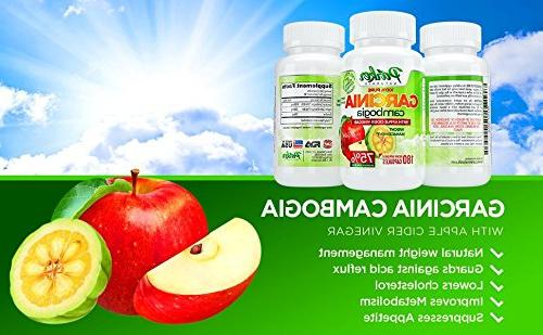 100% All Garcinia with Cider Ultimate Healthy Weight Blend. Pounds Inches 75% Hydroxycitric in 180 Veggie Capsules