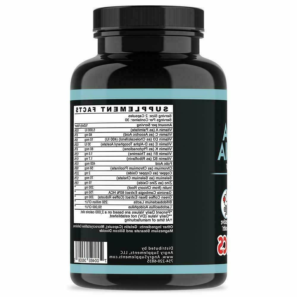 Angry Supplements Cambogia w. Loss 60 Caps