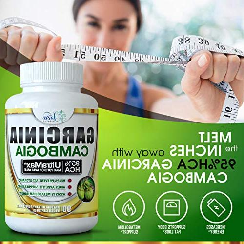 95% Cambogia Extract Appetite Extreme Blocker and Best Burner Supplement for Fast Metabolism
