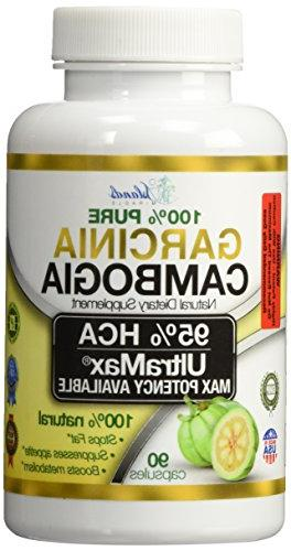 95% Pure Garcinia Cambogia Appetite Extreme Blocker Burner for Fast Weight & Metabolism