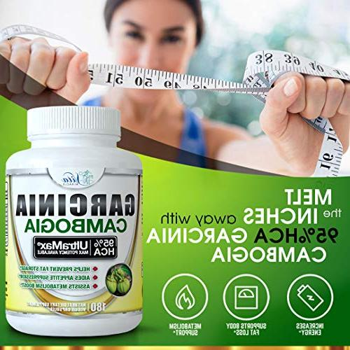 95% HCA Cambogia Extract Capsules Extra Natural