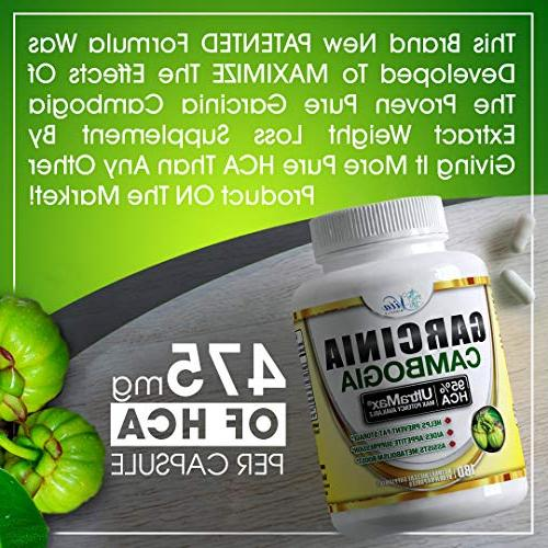 Pure HCA Reduce Appetite Weight Faster Than Ever Plus Garcinia Loss )