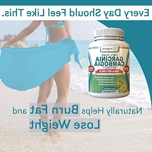 BioGanix HCA Cambogia Extract Best Ultra Potent Proven Weight Supplement Formula, Lab Tested For