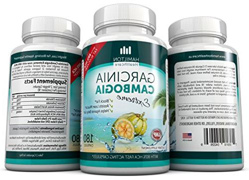 80% Garcinia Cambogia No 180 Fast Acting All Natur