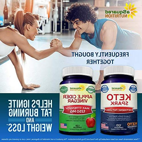 Keto for Weight Loss Pills Approved for The Ketogenic Diet - Stay Ketosis, Energy Focus Ketones for Women Men