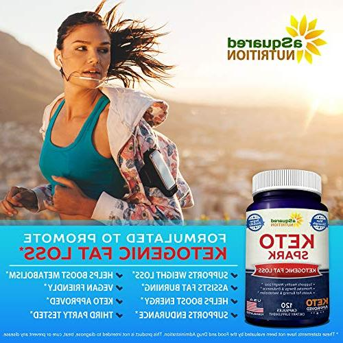 Keto Supplement for Weight Loss - Ketogenic & - Stay Ketosis, Increase Energy & Focus Caffeine Ketones for Men
