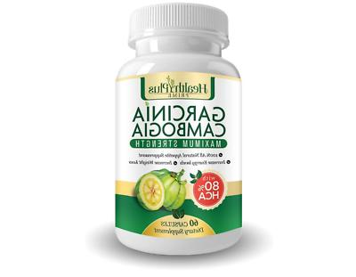 Lose Weight With 80% HCA PURE GARCINIA CAMBOGIA All Natural