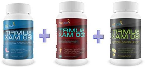 Slimfit 180 Max - Garcinia Cambogia - Pure to Help You Control Your Appetite Fat - with Secret