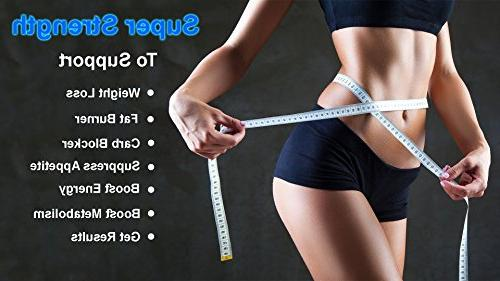 Strongest 100% 95% Cambogia Capsules Fat Burner for Weight Loss & Appetite Natural Ultra Plus