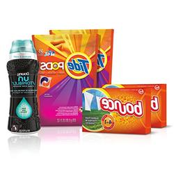 Tide Amazing Laundry Bundle : Tide PODS Laundry Detergent, B