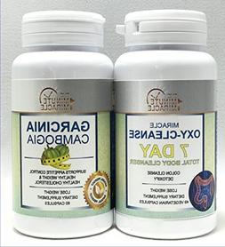 WEIGHT LOSE COMBO - MIRACLE OXY CLEANSE 7 DAY TOTAL BODY CLE