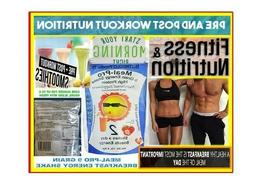 Nutreglo Meal Pro Meal Replacement  Pre and Post Workout