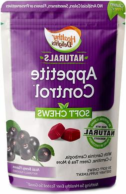 Natural Appetite Control Suppressants Soft Chews for Weight
