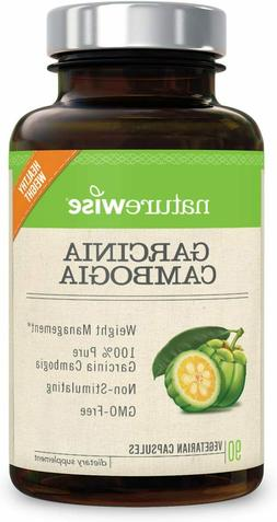 Pure Garcinia Cambogia | 100% Natural HCA Extract Supports W