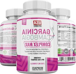 Pure Garcinia Cambogia Extract Capsules for Metabolism Weigh