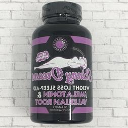 Angry Supplements Skinny Dreams, Night Time Sleep Aid for Al