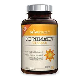 NatureWise Vitamin D3 2,000 IU for Healthy Muscle Function,